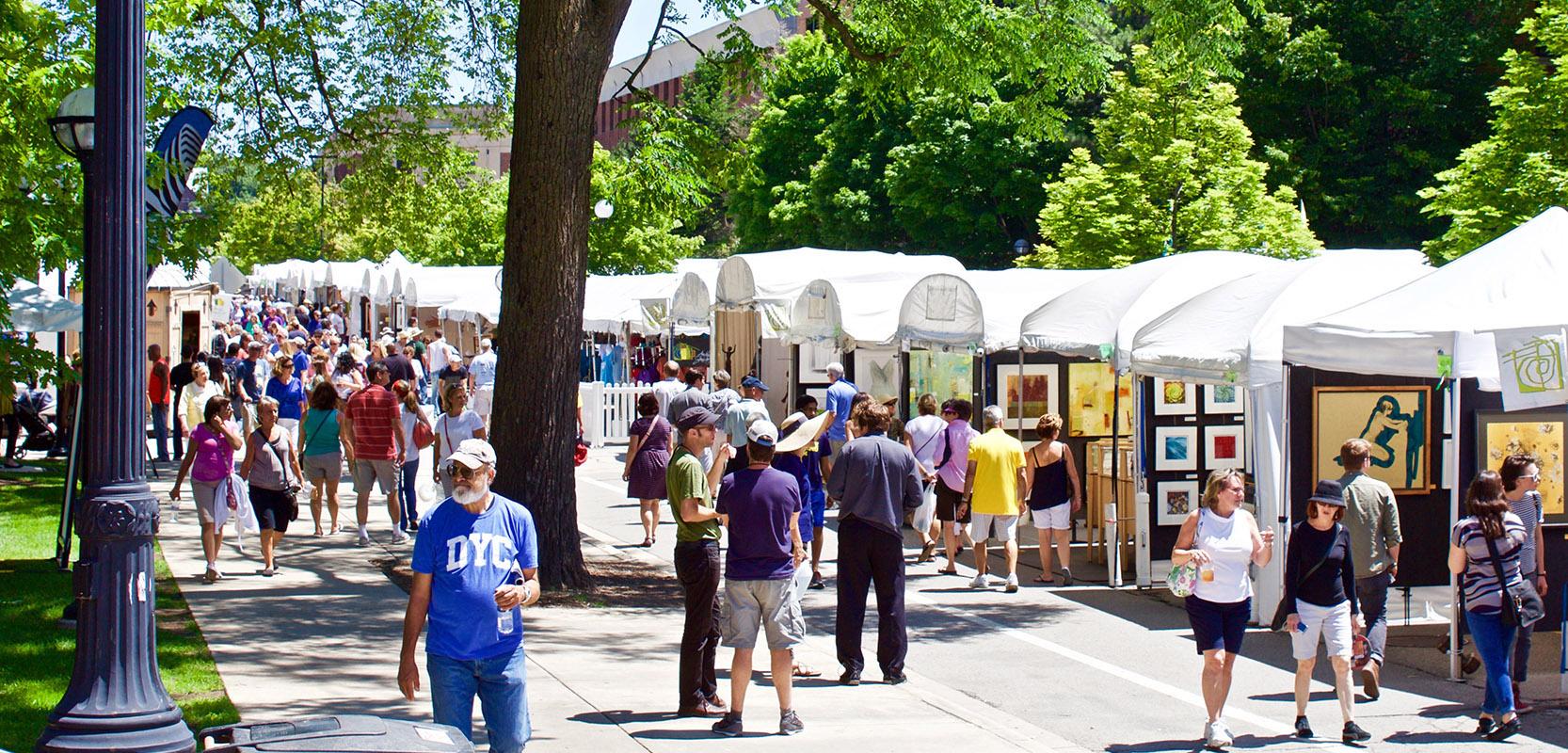Melvindale Street Fair 2020.Ann Arbor Street Art Fair The Original